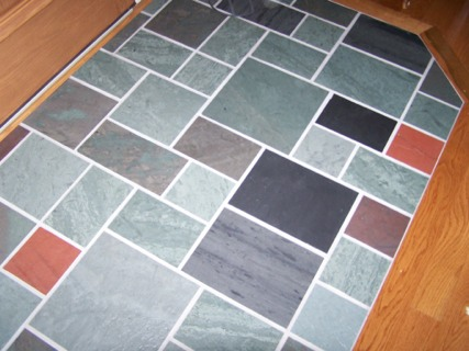 Natural Vermont Slate Floor Tile